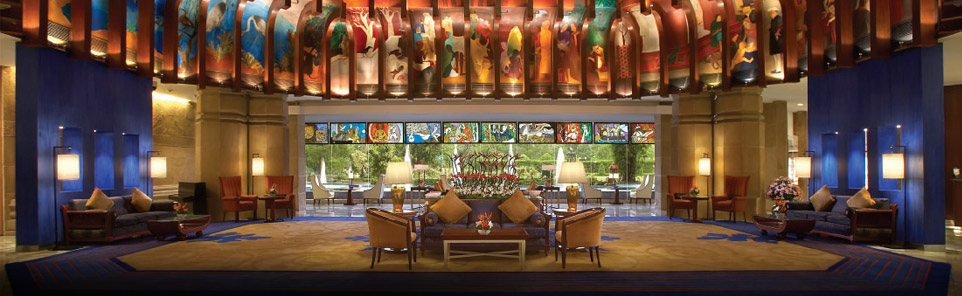 WelcomArt at ITC Hotels in India and Refreshing Tea