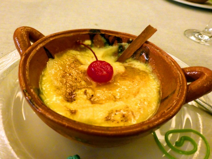 Mexican Creme Brule (Photo by Sandra Chambers)