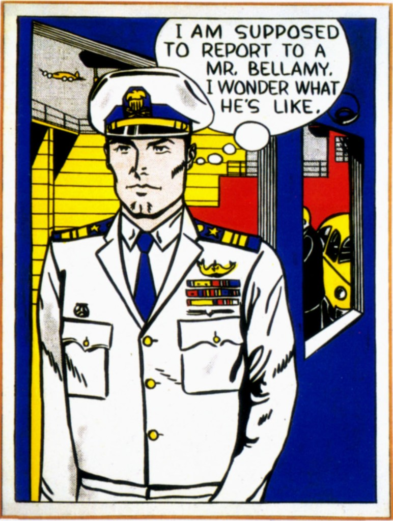 Roy Lichtenstein. Mr. Bellamy, 1961. Collection of the Modern Art Museum of Forth Worth, The Benjamin J. Tillar Memorial Trust, acquired from the collection of Vernon Nikkel, Clovis, New Mexico, 1982