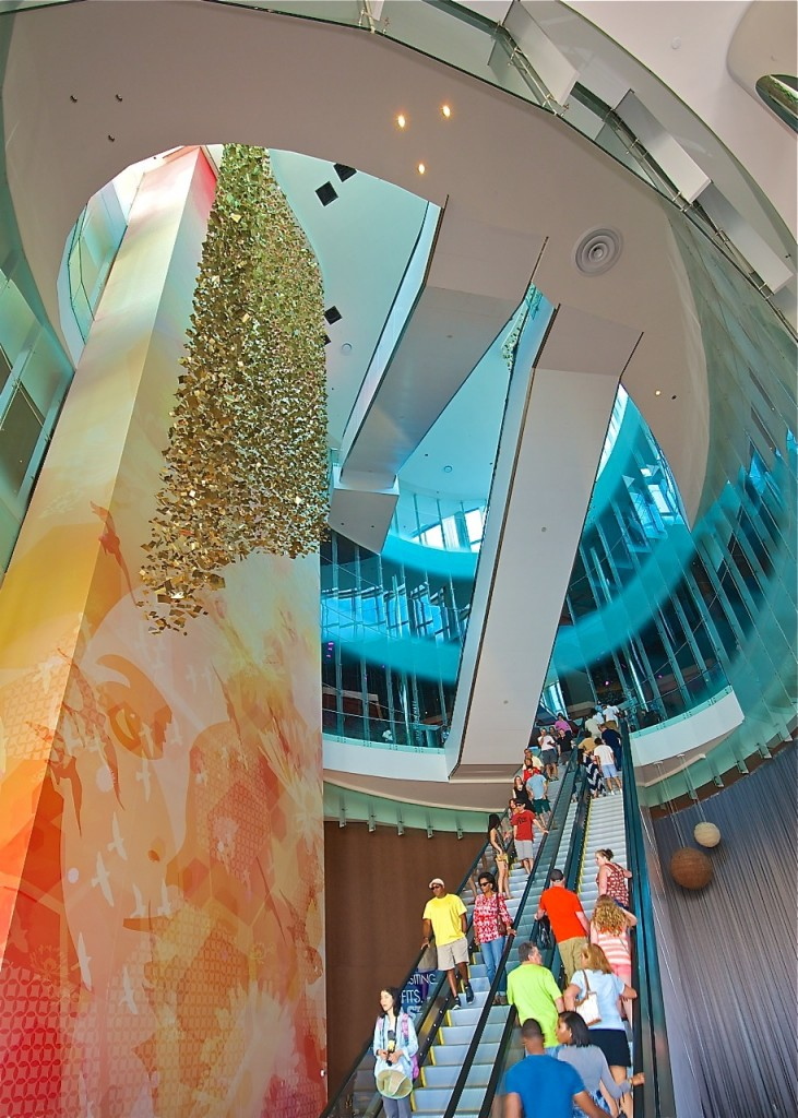 All that glitters is truly golden for visitors of the Revel. Image Credit © Dale Sanders 2014.
