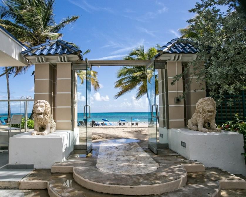 Lion Gateway to the Beach