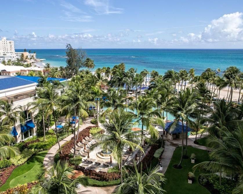 Ritz Carlton Pool and  Beach