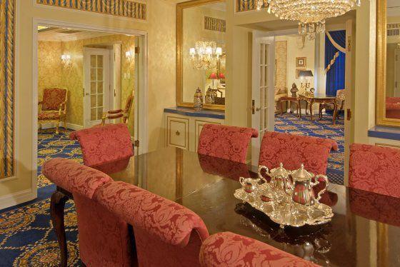 Opulent suite, courtesy of Hotel Saskatchewan
