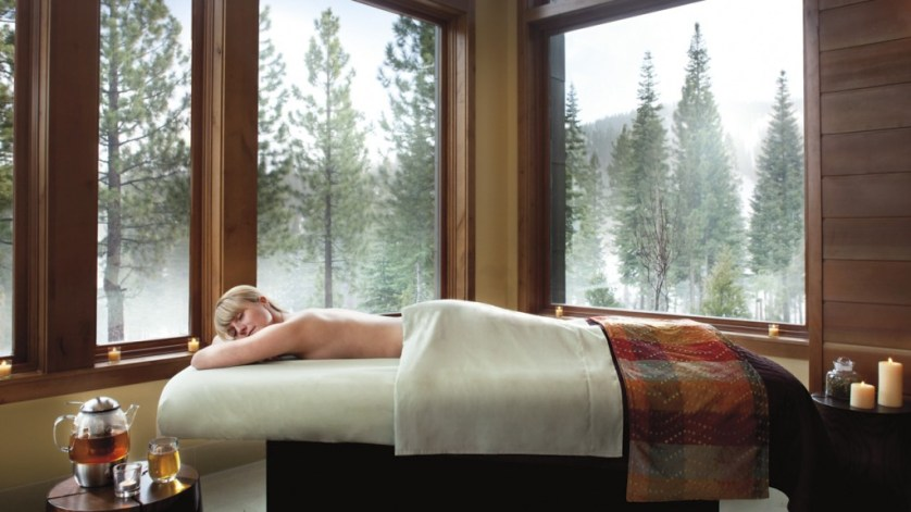Enjoy modern results-oriented treatments in the slope-side spa