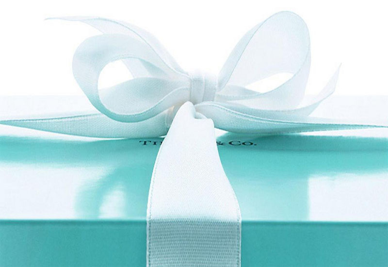 The Tiffany & Co. box says it all. Image courtesy of professionaljeweller.com
