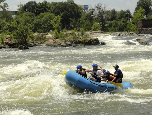 Whitewater Rafting in Columbus, Georgia