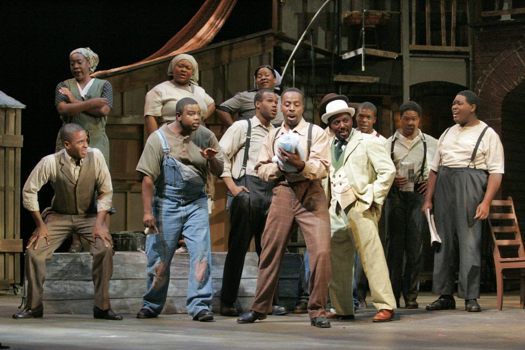"""Porgy and Bess"" Costume Design by Earl J. Battle"