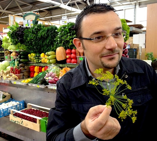 JOINING CHEF ACCORDI ON A TOUR OF THE MARKET