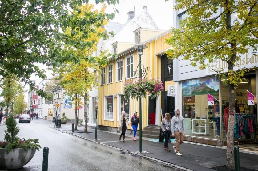 Reykjavik Street Scene