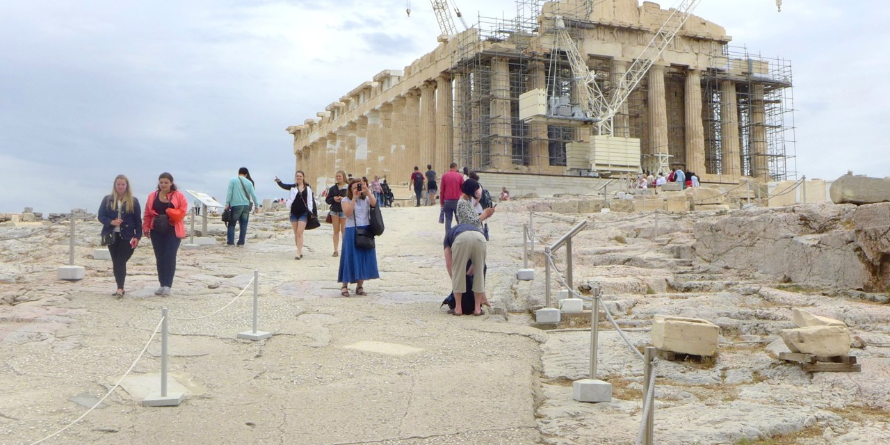 Tour of the Parthenon, Athens, Greece