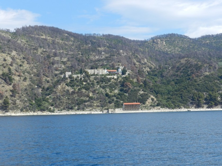 View of Mount Athos
