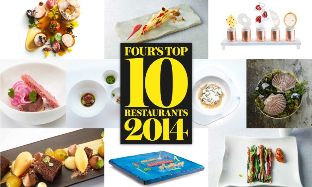 FOUR's Top 10 Restaurant List