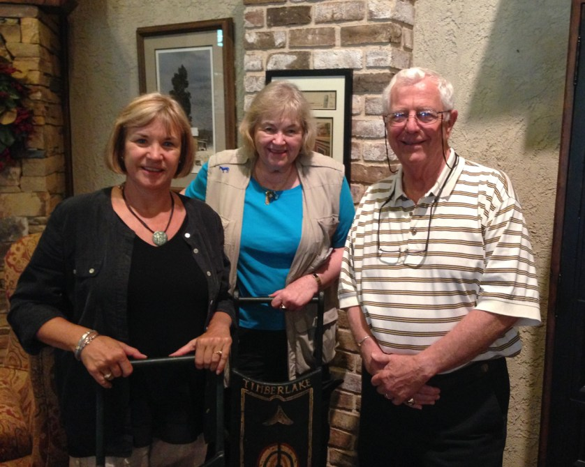 Debi Lander, Judy Wells & Bob Timberlake