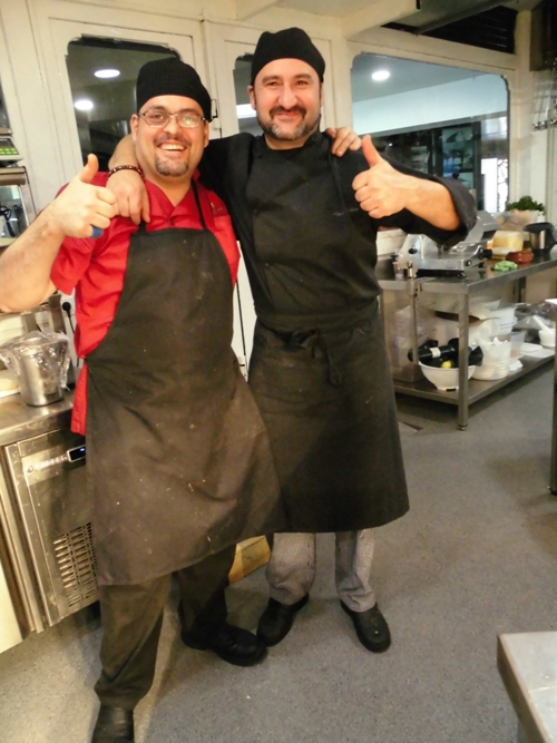 Don Antonio´s happy team