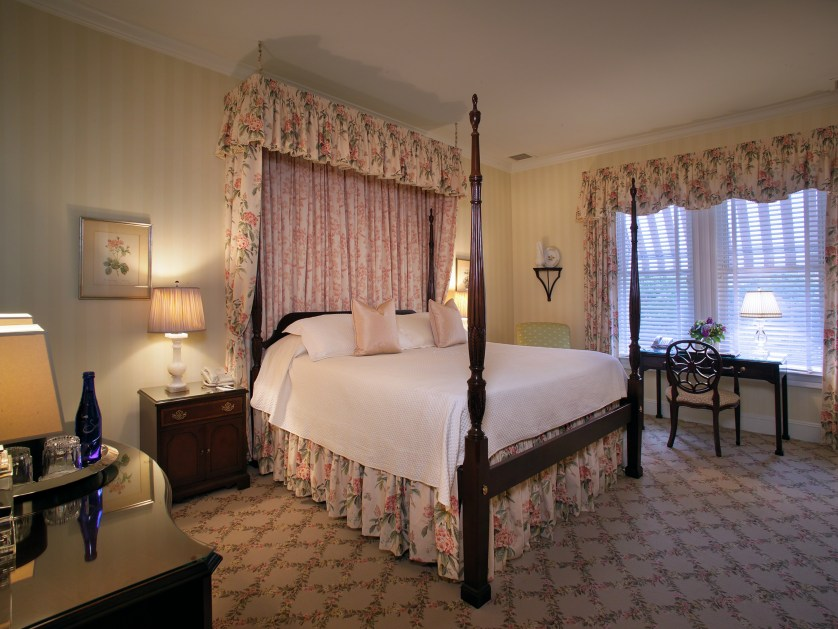 The Bernards Inn is a boutique hotel with 20 rooms.