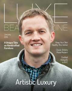 January 2015 Luxe Beat Magazine Cover