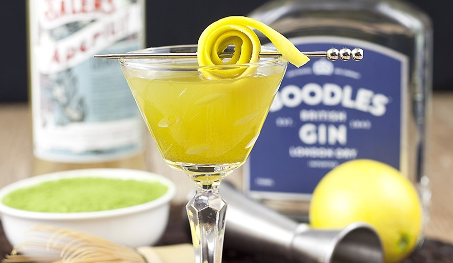 Matcha Inspired Cocktails: The Revamped Martini