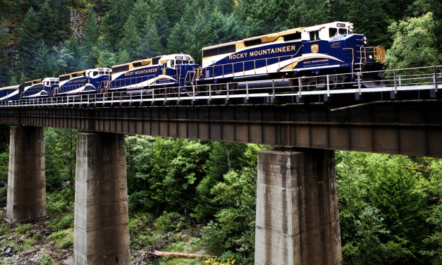 The Rocky Mountaineer: A Train to the Sublime