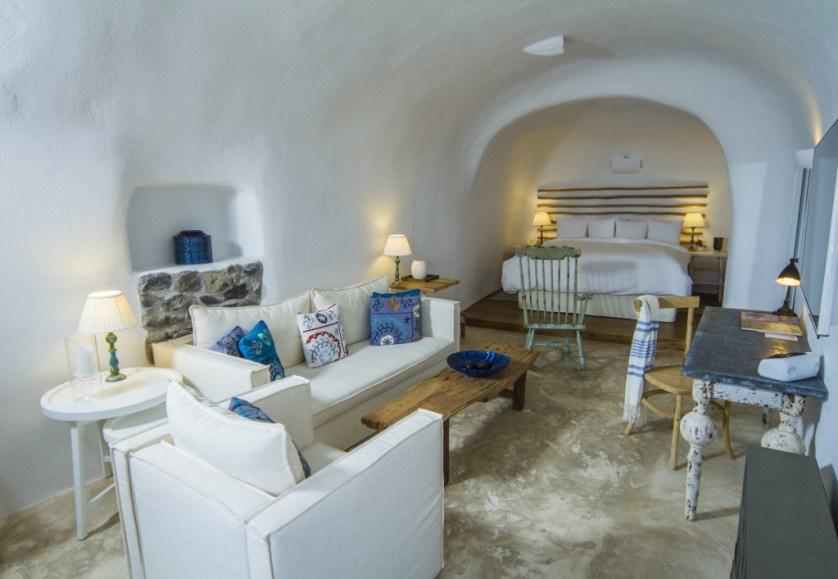 Classic Suite Courtesy of Iconic Santorini