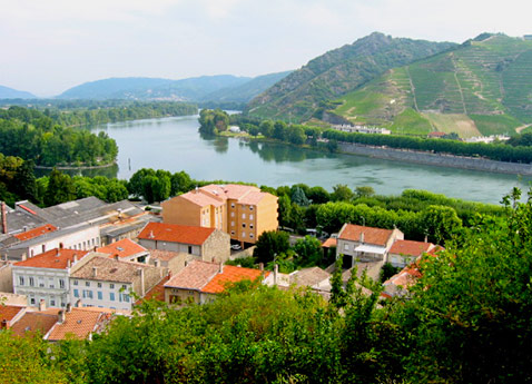 River Cruising into Tournon