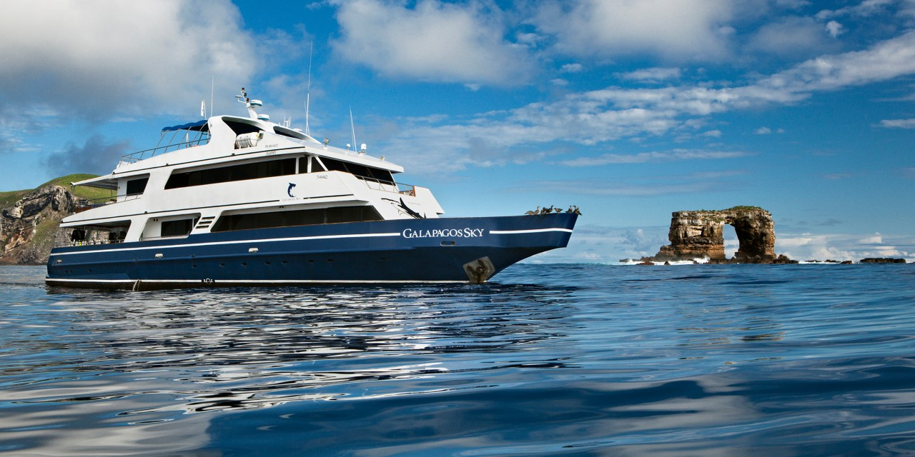 Galapagos Islands Dive Boat Luxury