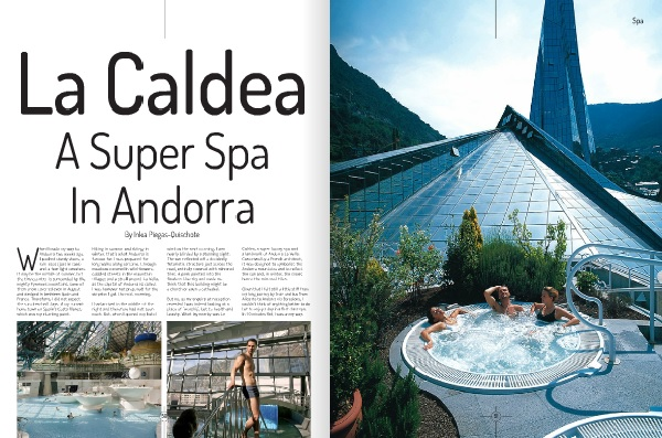 Inka's Article: La Caldea – A Superspa In Andorra
