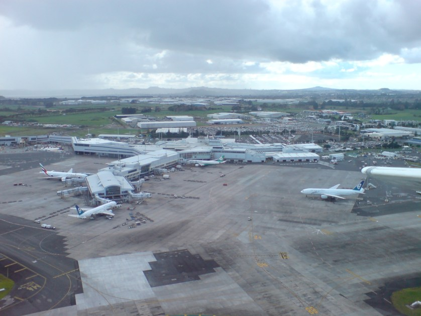 Auckland Airport. Photo by Uploader via Creative Commons