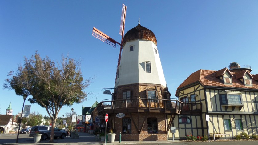 Solvang, California, is Danish themed.