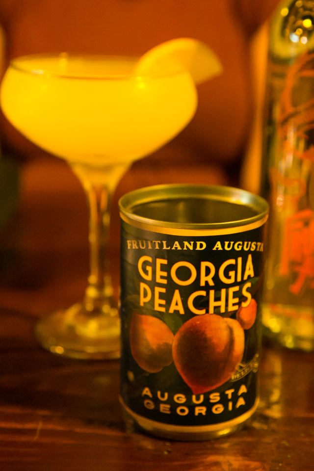 Fruitland Augusta Peach Vodka Martini
