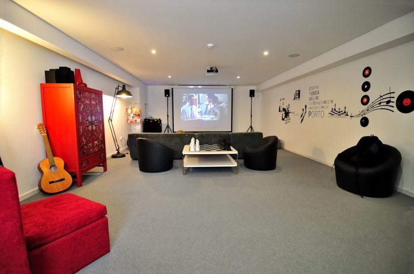 From 20 euro a night, guests can lounge in both private and dormitory-style rooms at the Gallery Hostel that have stunning views of the city. (Photography Gallery Hostel)