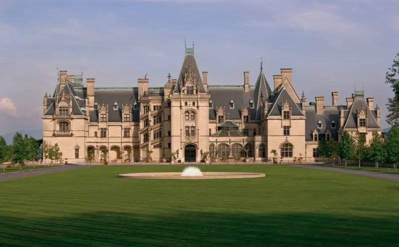 The Biltmore House in Asheville, NC. (Photo courtesy of The Biltmore Company).