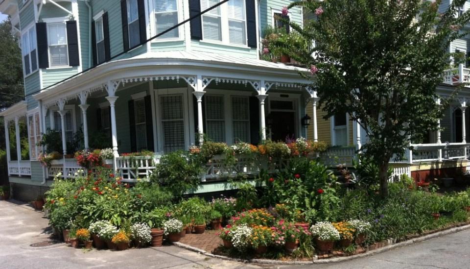 Historic home in Savannah.