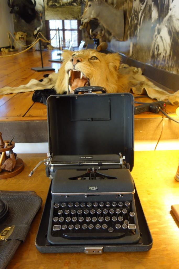 Hemingway 3 - Typewriter similar to one used by Hemingway