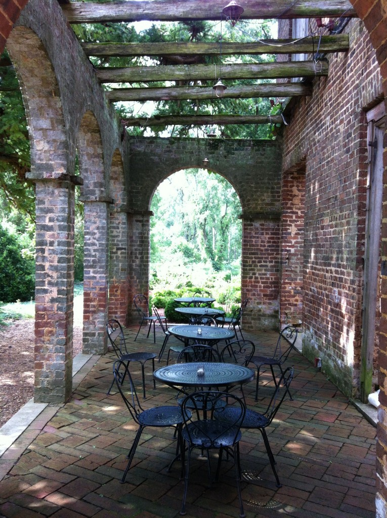 Terrace at the Manor House which is perfect for events.