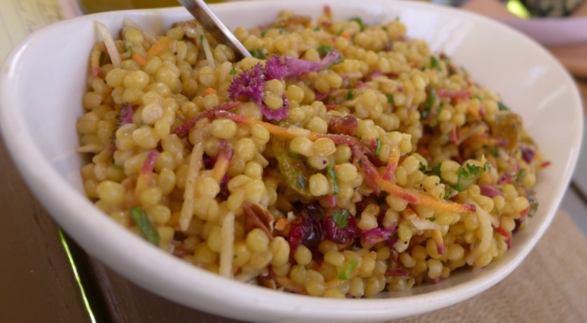 Wheat berry salad, Photo Maralyn D Hill