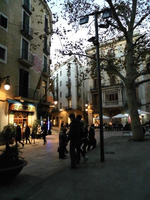 Plaza del Pi/Barcelona