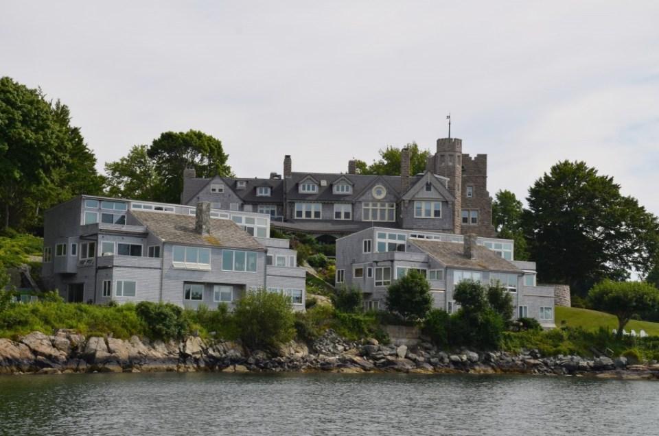 Condos on Newport Harbor.