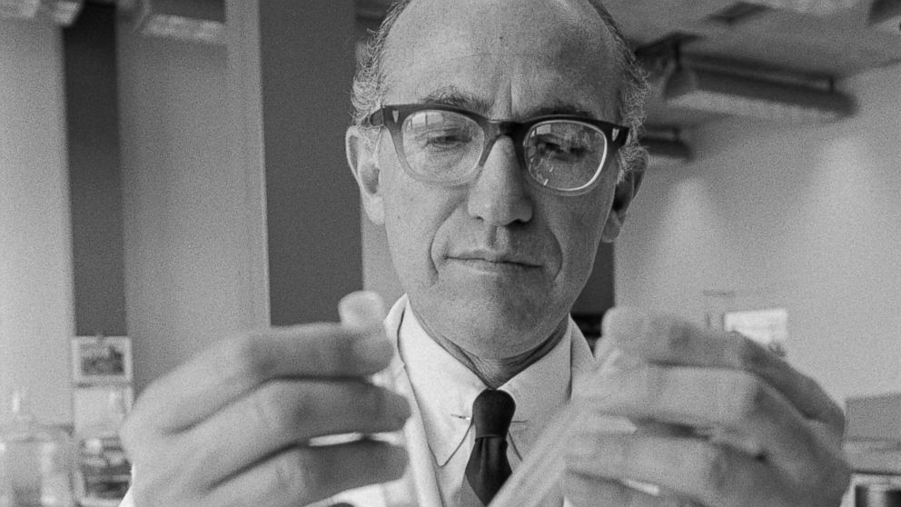 Jonas Salk. Image courtesy of abcnews.com