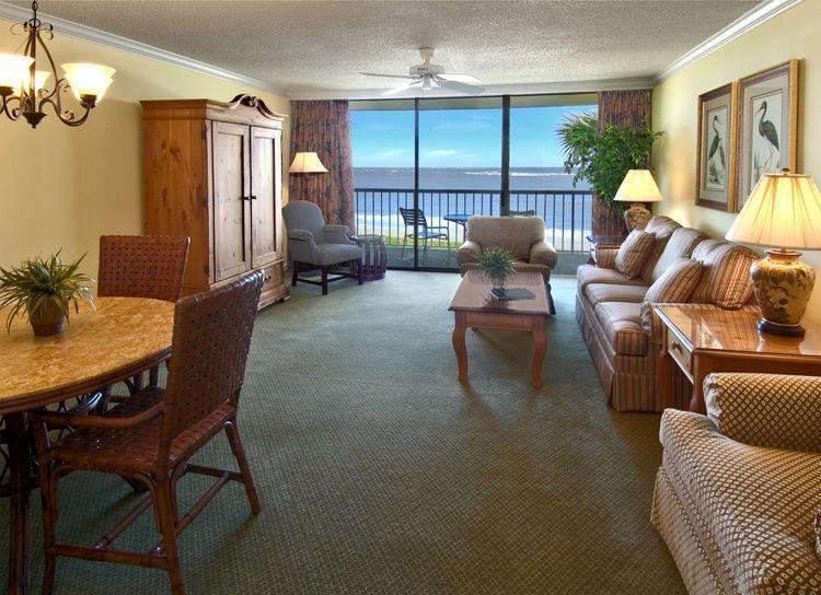 Villa living room.