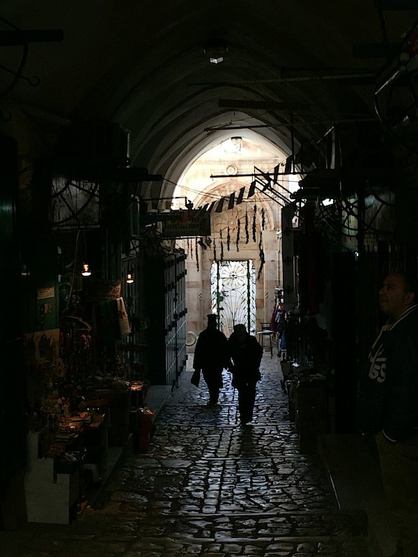 Easy to get lost in the Old City