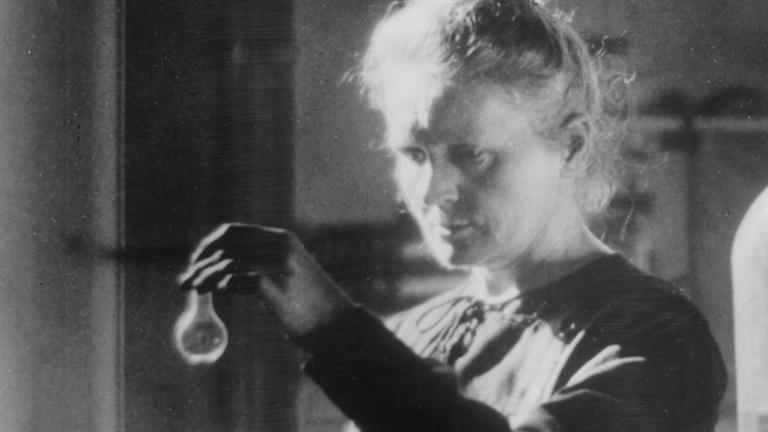 Marie Curie, Image courtesy of biography.com