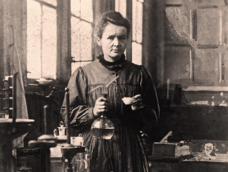 Marie Curie, Image courtesy of http://inlifeandinfashion.com