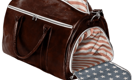 All American Luxury Travel Bag