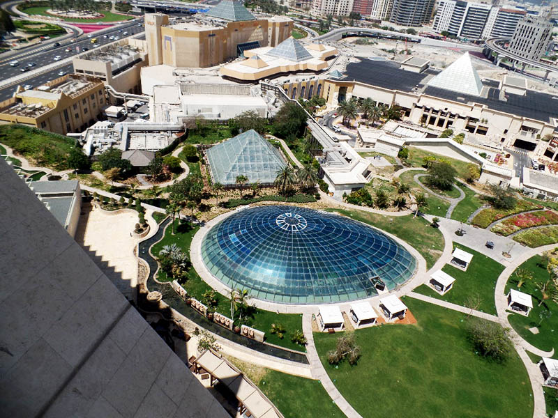 THE GLASS DOME & WAFI MALL