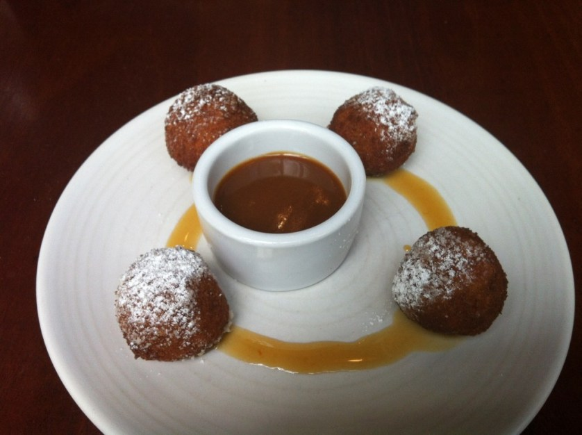 Rice Pudding Fritters at Agrodolce