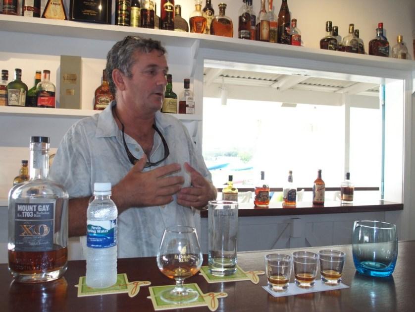 Mark Theron rum expert