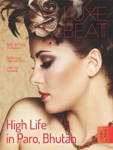 Luxe Beat Magazine Cover September 2015