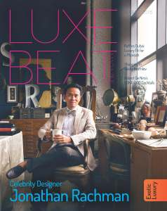 Luxe Beat Magazine August 2015 Cover