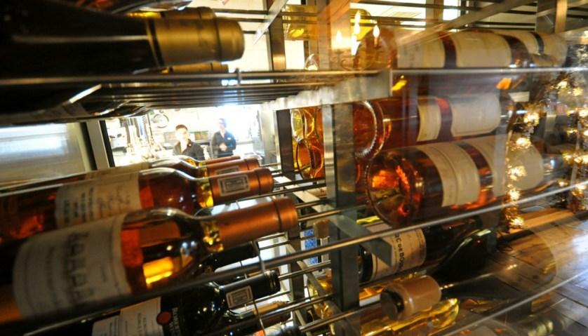 Panache's Wine Cellar houses over 12,000 bottles of wine (Photo courtesy of Auberge Saint-Antoine)