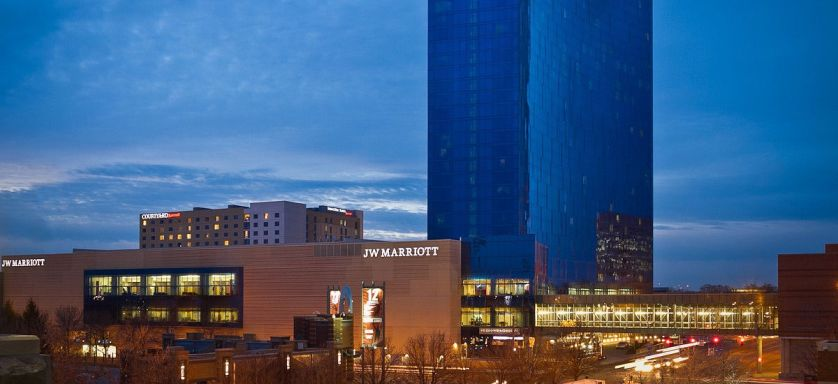 The gorgeous J.W. Marriott Indianapolis